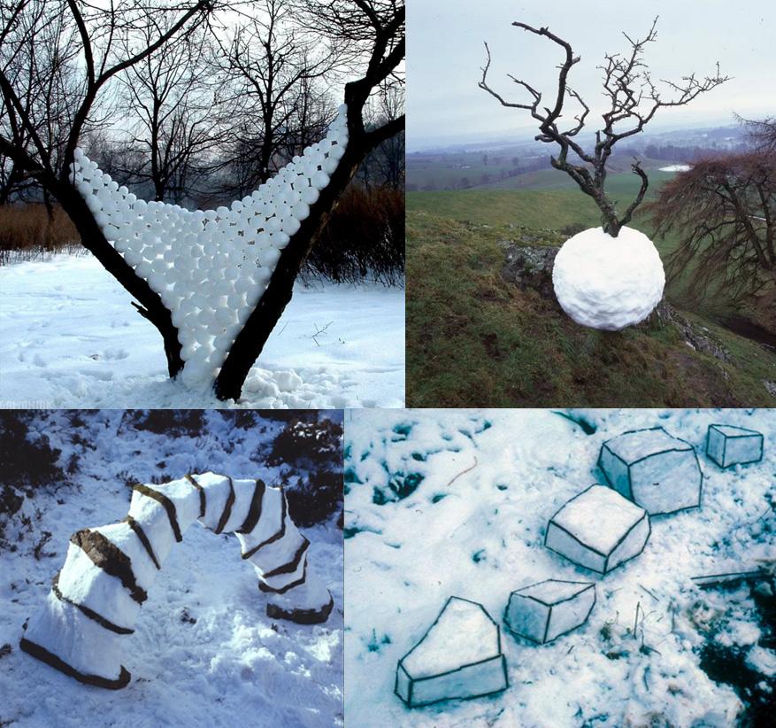 sneeuw landschapskunst